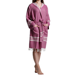 Buy Turkish Cotton Bathrobe