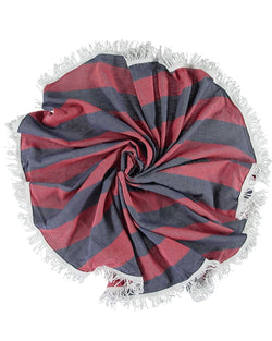 Round Towel With Fringes