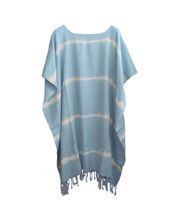 Yaren Tunic Dress Blue
