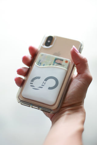 Silicone Credit Card Phone Sleeve