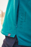 Men's Sleeveless Hoodie w/pockets - Deep Teal