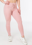Standard length Plush Pink sexy joggers from CNC.
