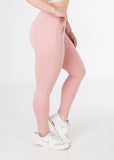 Standard length, squat-proof Plush Pink sexy joggers from CNC.