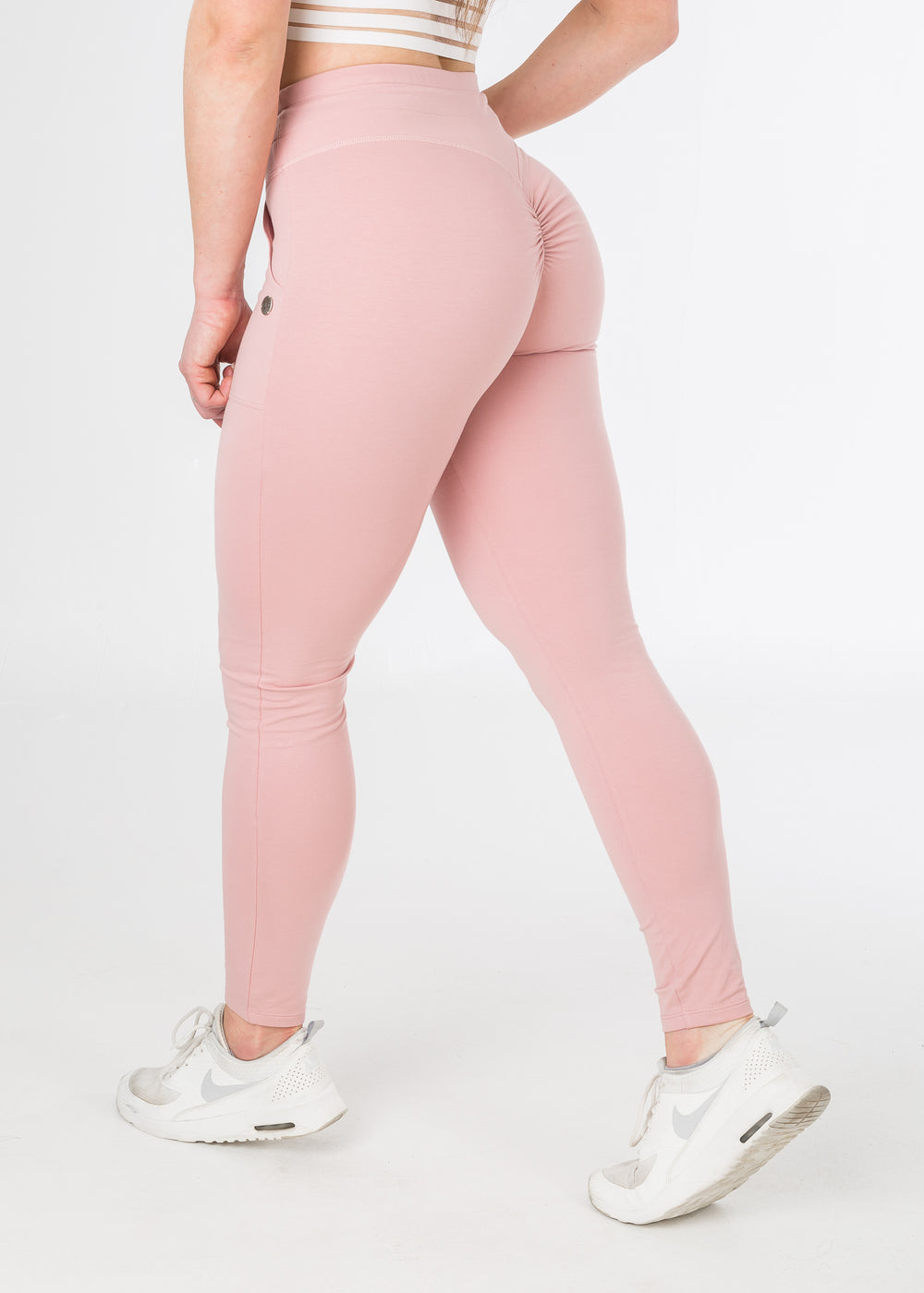 100% squat-proof Plush Pink sexy joggers from CNC.