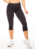 Empowered V4 Capris - Little Black