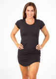 T Shirt Dress - Black