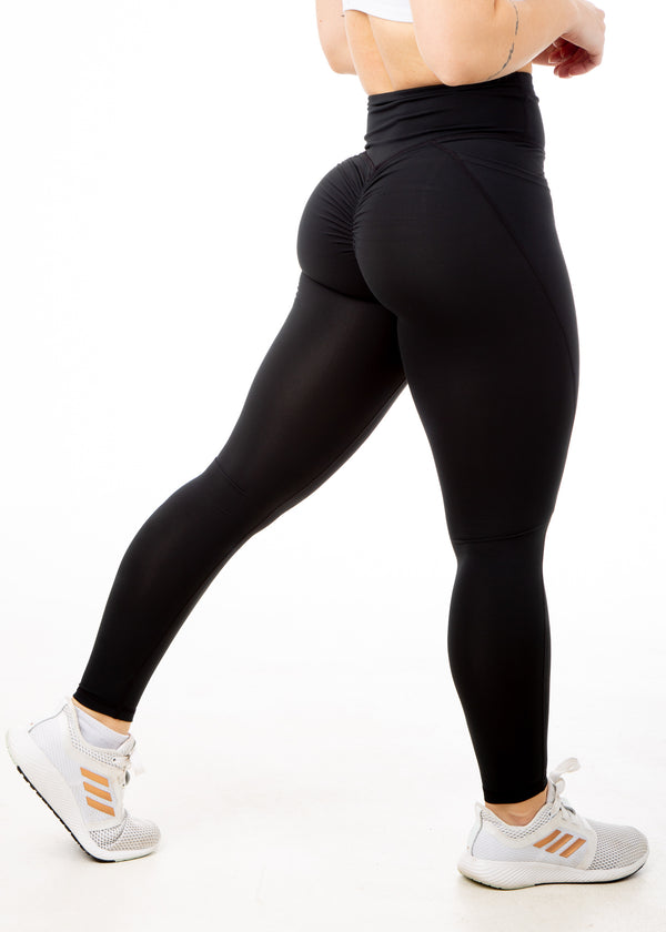Regal Black - V4 Booty Scrunch Leggings
