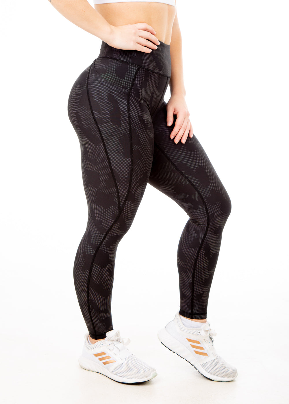 Holographic Camo – V4 Leggings