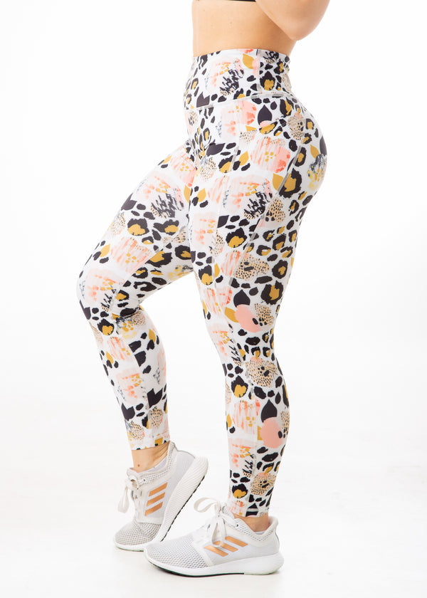 Exotic Floral - V4 Leggings