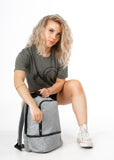 Work-to-Workout Backpack - Heather Grey