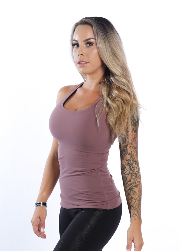 The Everyday Tank top - Dusty Orchid