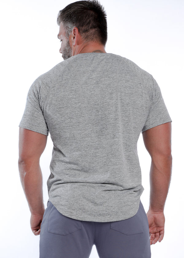 Men's Performance Tee - Stone Gray