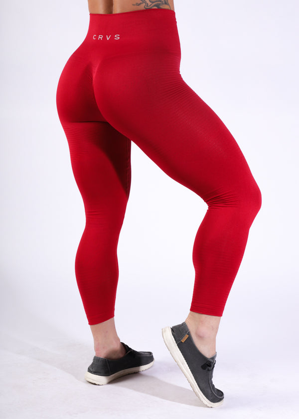 Seamless w/booty scrunch - Poppy