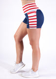 Empowered Shorts - Red, White, and Badass 3""