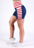 Empowered Shorts - Red, White, and Badass 5""