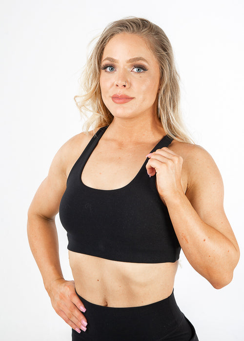 Lavish Sports bra - Black