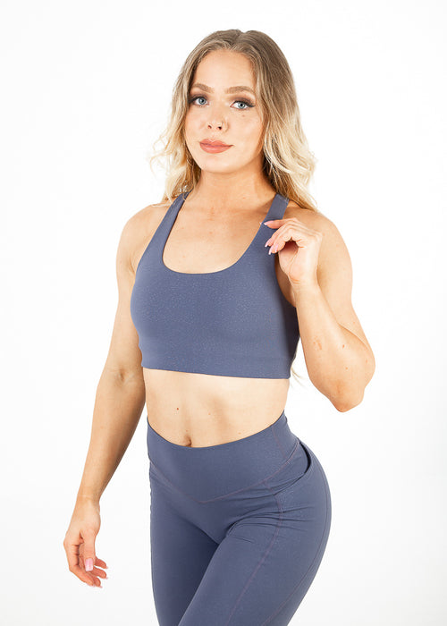 Lavish Sports bra - Blue