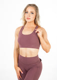 Lavish Sports bra - Mauve