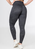 Luminous Camo, Black, V4 leggings with pockets