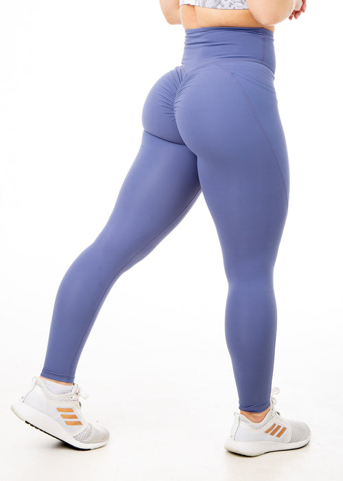 Regal Blue Ice - V4 Booty Scrunch Leggings