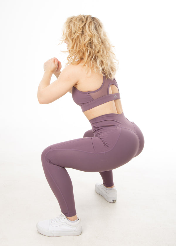 Regal Crushed Grape - V4 Leggings