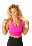 Resilient Sports bra - Hot Pink