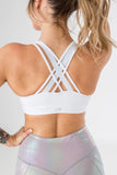 Perfect Strappy Bra - (D+ Cup) White