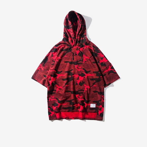 CARNAGE Oversized Camouflage Men's Hoodie