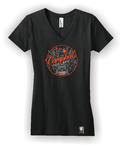 Junior Concert V-Neck Tee - Girls