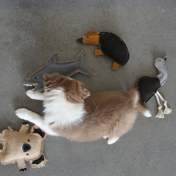 Natural, Sustainable Dog Toys