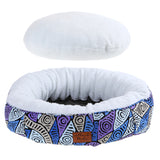 Round Dog Bed - Salt Lakes (NEW)