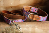 Leather Dog Collar - Digging For Truffles (now in 5 sizes)