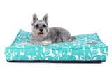 Rectangular Dog Bed - Eucalyptus