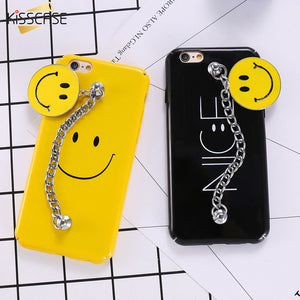 Kisscase Smile Face Bracelet Chain Case - kisscase.net