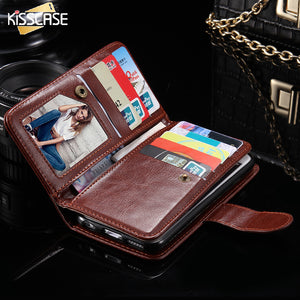 Kisscase PU Leather Wallet Case - kisscase.net