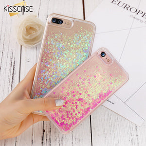 Kisscase Glitter Quicksand Case - kisscase.net