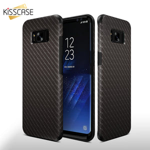 Kisscase Fiber Texture PU Phone Case - kisscase.net