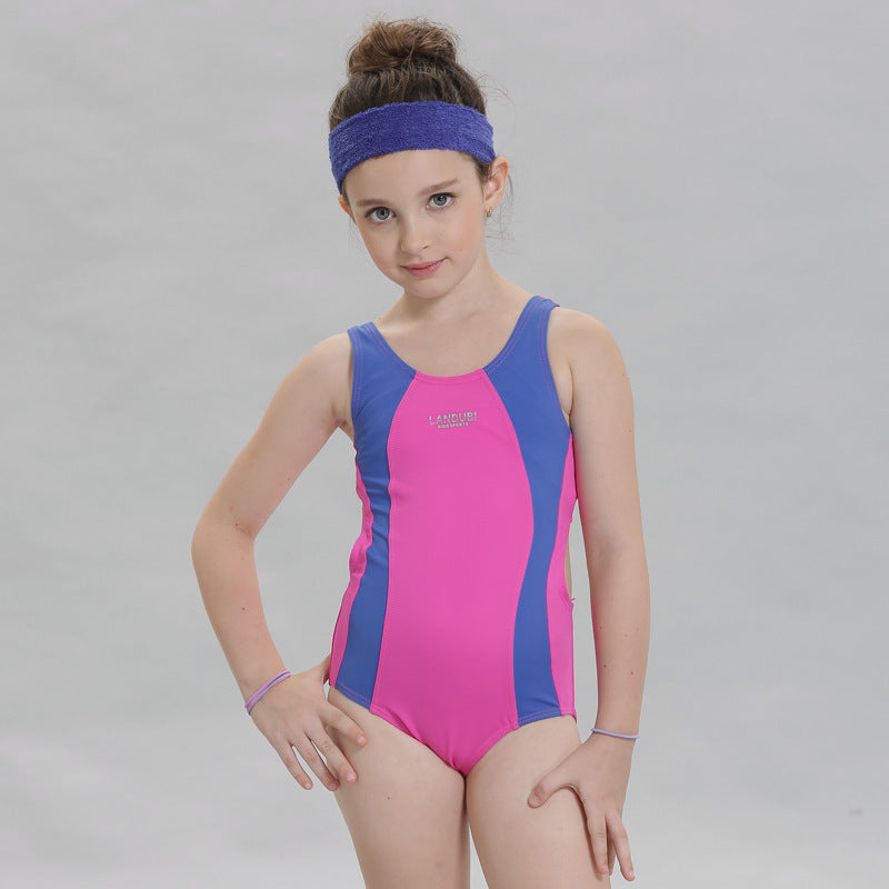 7627eb9803 Children Swimming Clothes Girls Swimwear One Piece Swimsuit Teenager Sport  Suit Beach Swimwear One Piece Bathing Suit For Kids Sc 1 St Go Go Shop Shop