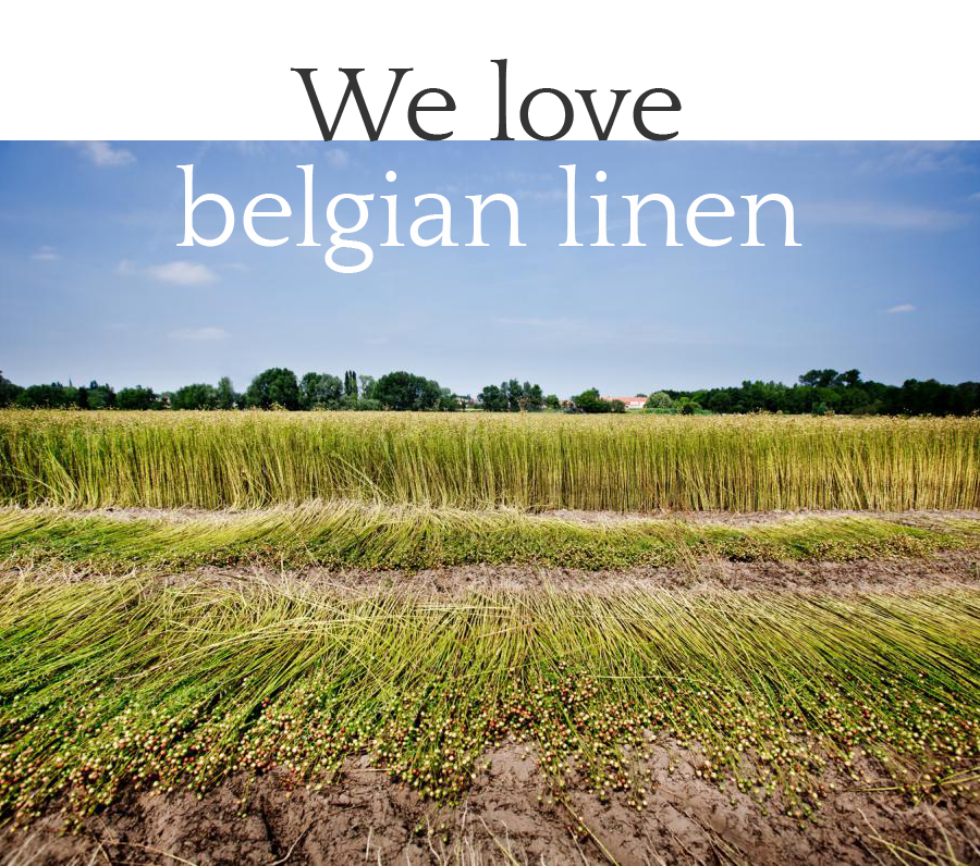 We love Belgian Linen