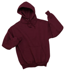 Youth Maroon Pullover Hooded Sweatshirt (7 different design options)