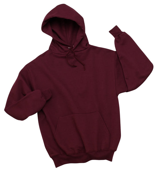 Maroon Adult Pullover Hooded Sweatshirt (7 different design options)