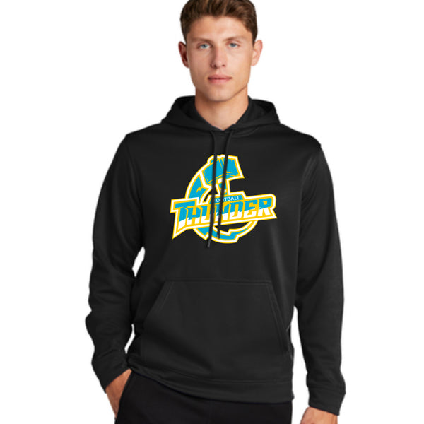 Thunder Logo Hooded Sweatshirt