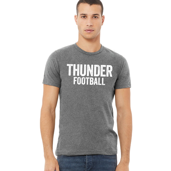 Adult Unisex Thunder Distressed Tee