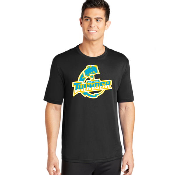 Mens Thunder Logo Performance Tee