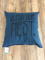Bless Our Nest Pillowcase