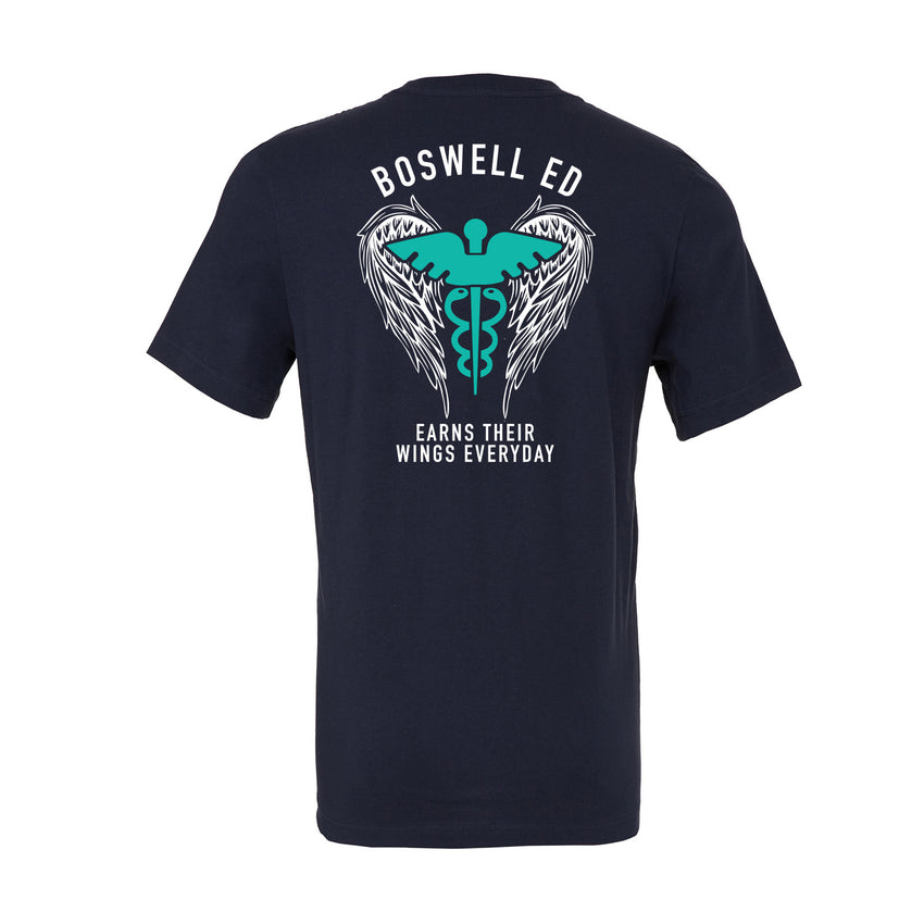 Boswell Emergency Department Tee. Arizona Boswell ED tee. Nurse tee. Nurse Flag Tee.