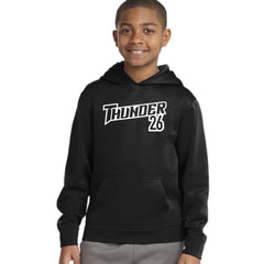 Adult and Youth Thunder Hooded Sweatshirt with players number