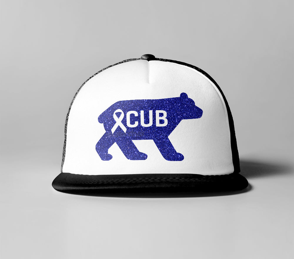 Cancer Kid Famous Cub Trucker Hat
