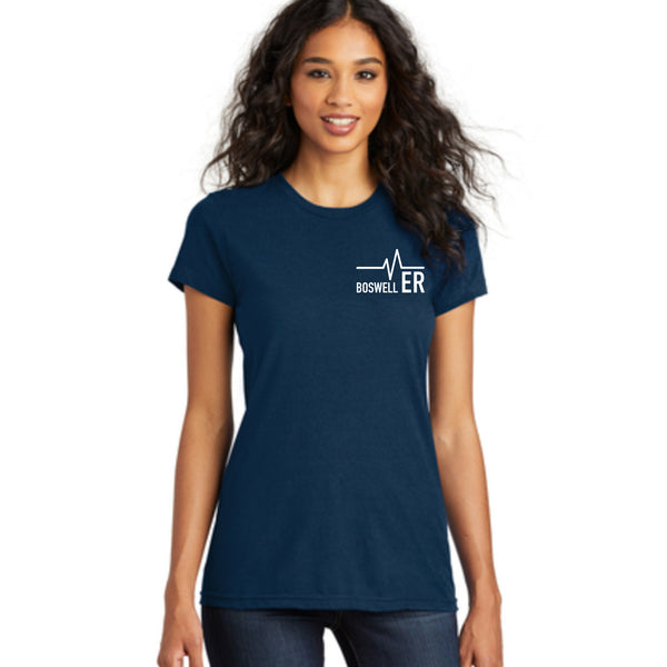 Boswell ER Womens Fitted tee
