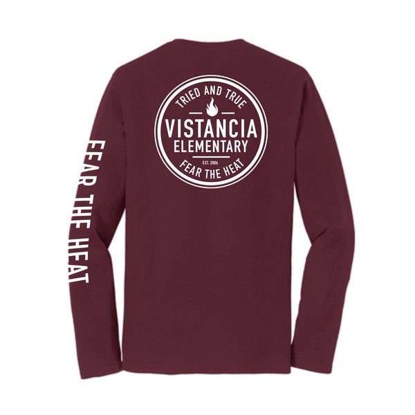 Vistancia Elementary Fear The Heat Long Sleeve Tee